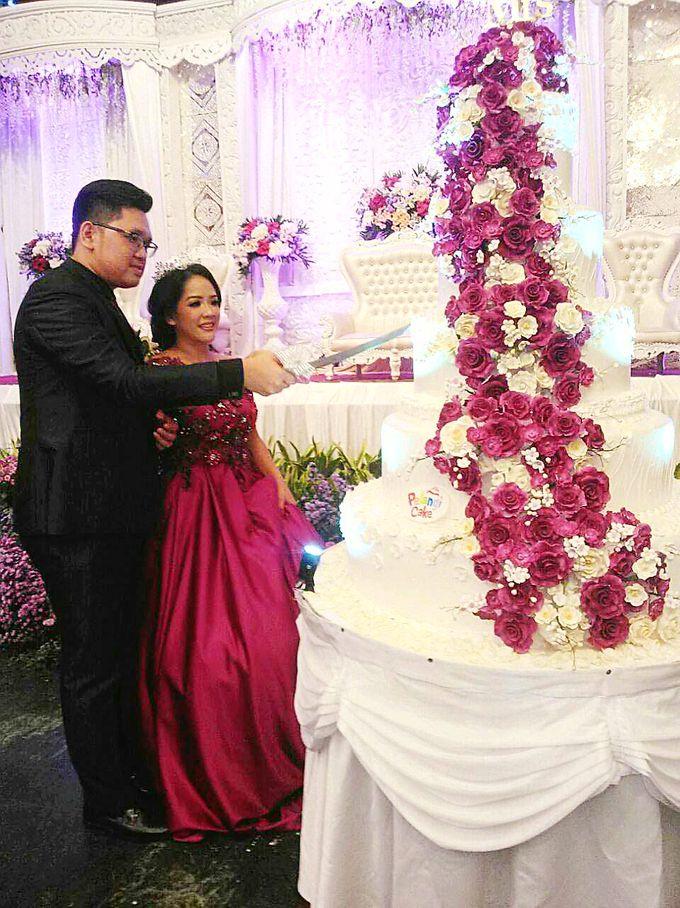 happy wedding for Army & Grace by Pelangi Cake - 001