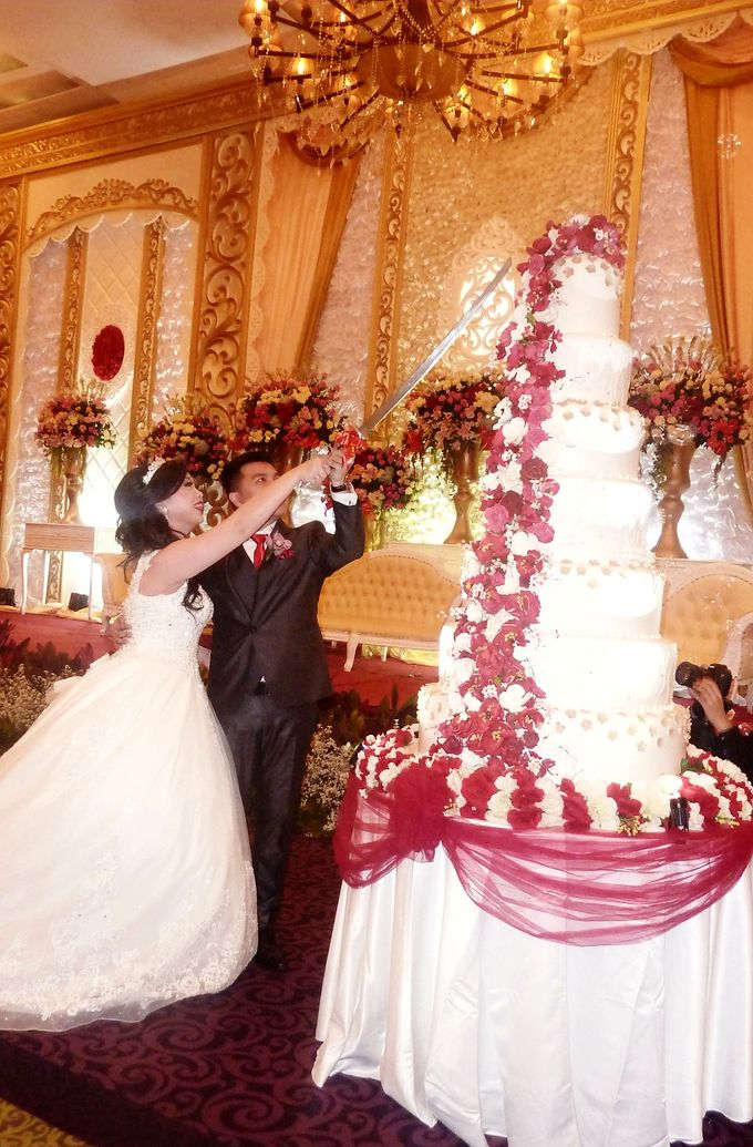 happy wedding for Andy & Patricia by Pelangi Cake - 001