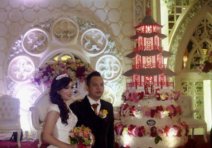 Happy wedding for Anthony & Lindy by Pelangi Cake - 001