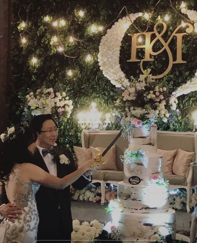 weddiing cake  for Joshua & Grace by Pelangi Cake - 001