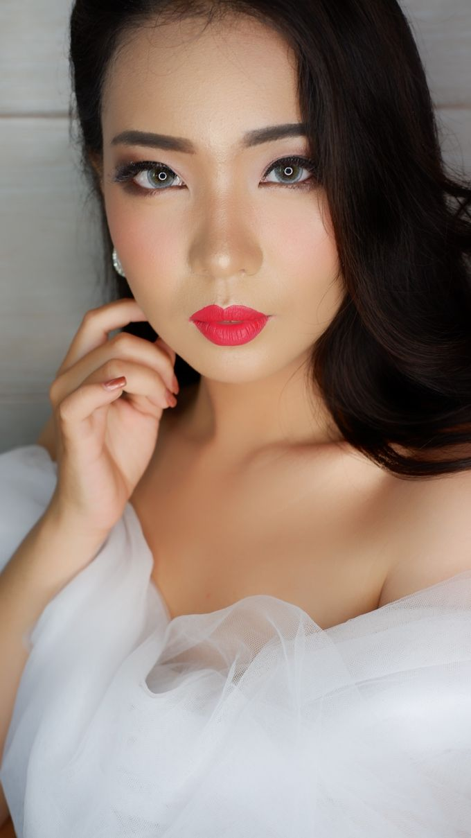 Bride MAKEUP LOOK by lely murwiki - 005