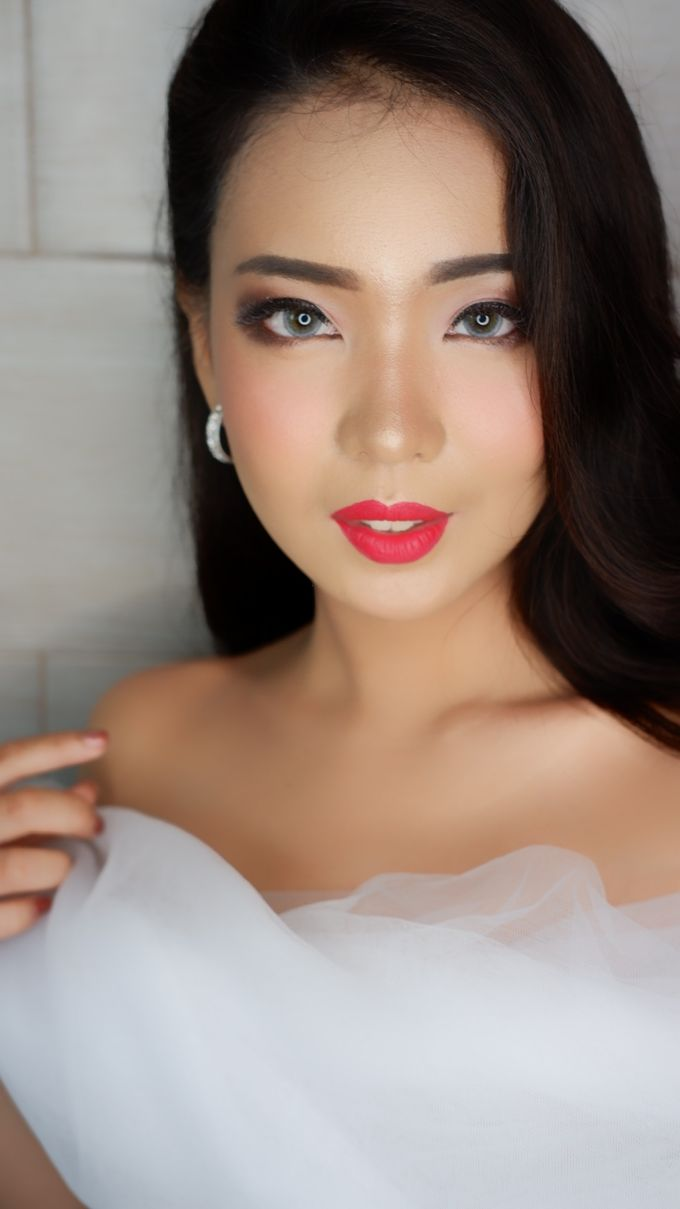 Bride MAKEUP LOOK by lely murwiki - 001