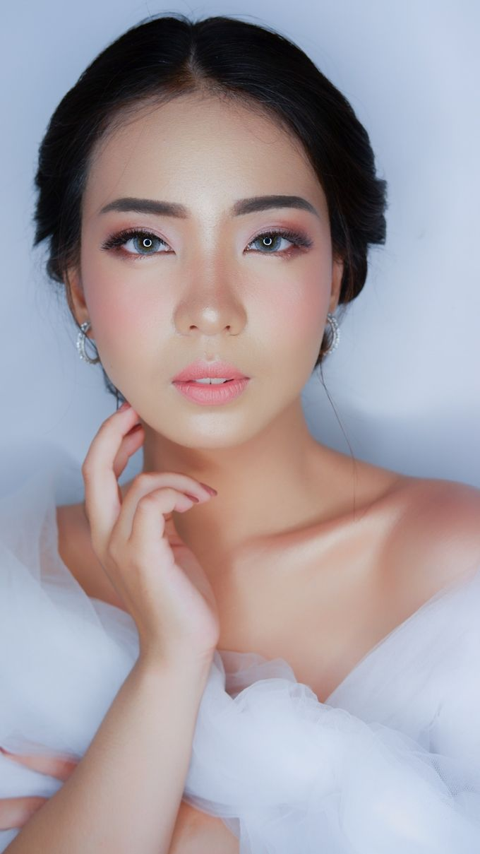 Bride Makeup and Hairdo by lely murwiki - 002