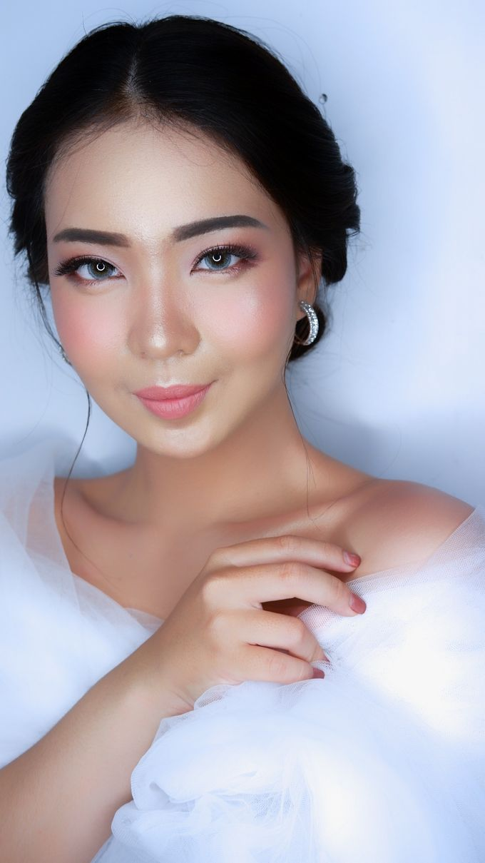 Bride Makeup and Hairdo by lely murwiki - 004