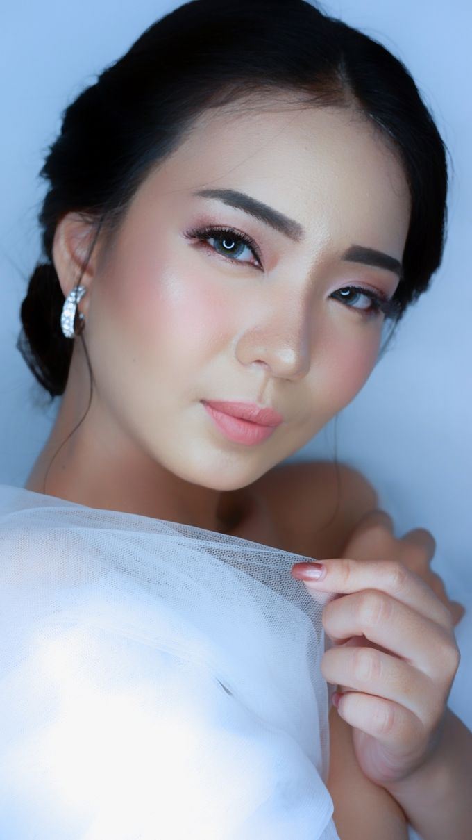 Bride Makeup and Hairdo by lely murwiki - 005