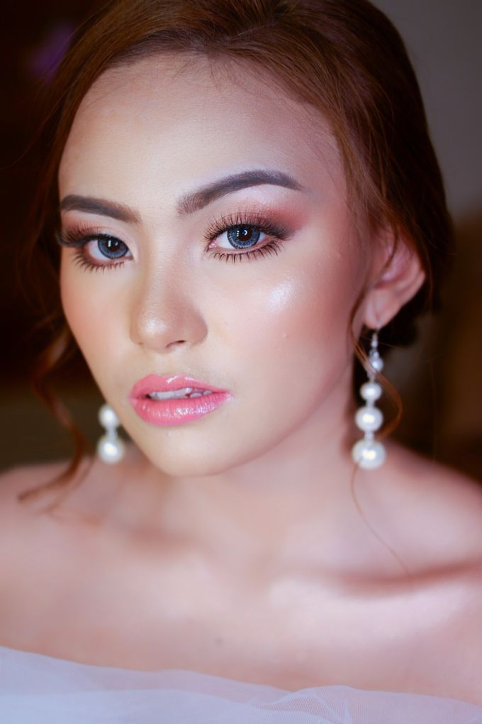 Bride Makeup Look by lely murwiki - 004