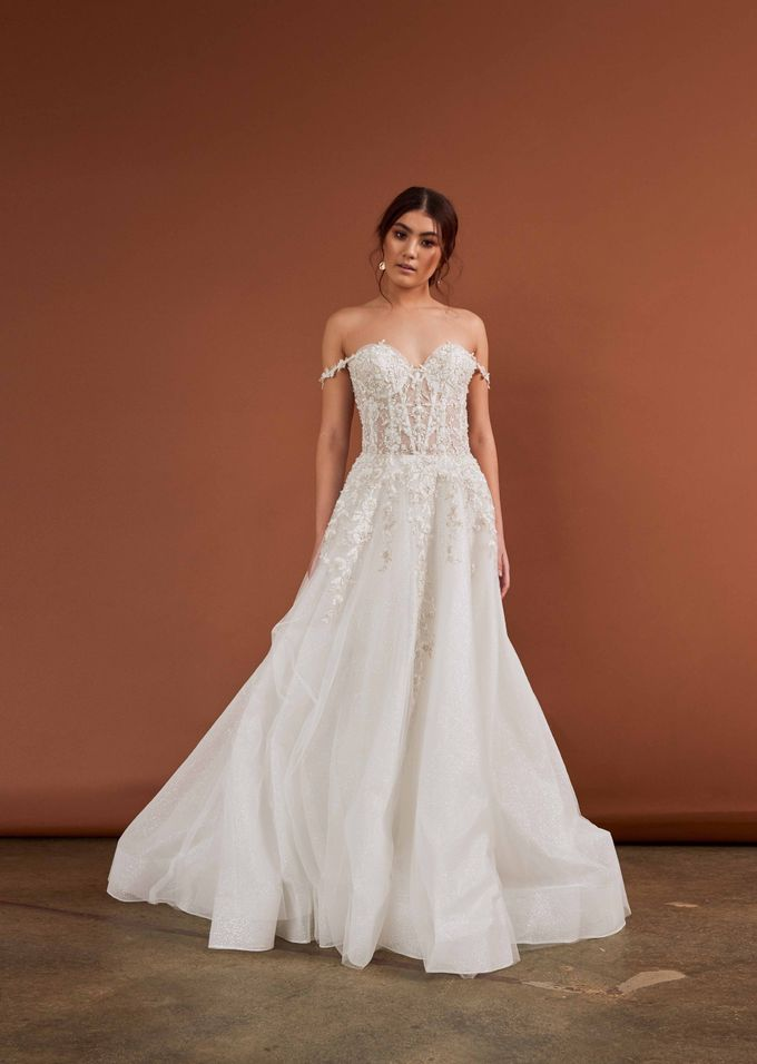 Cizzy Bridal - Tuscan Sun Collection by Charmed by Rae - 006