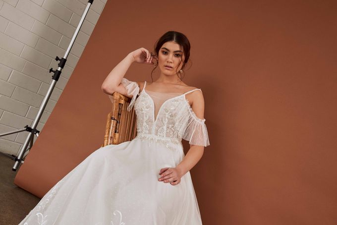 Cizzy Bridal - Tuscan Sun Collection by Charmed by Rae - 012