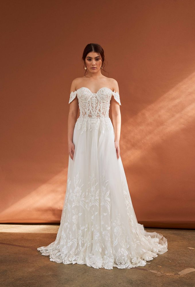 Cizzy Bridal - Tuscan Sun Collection by Charmed by Rae - 029