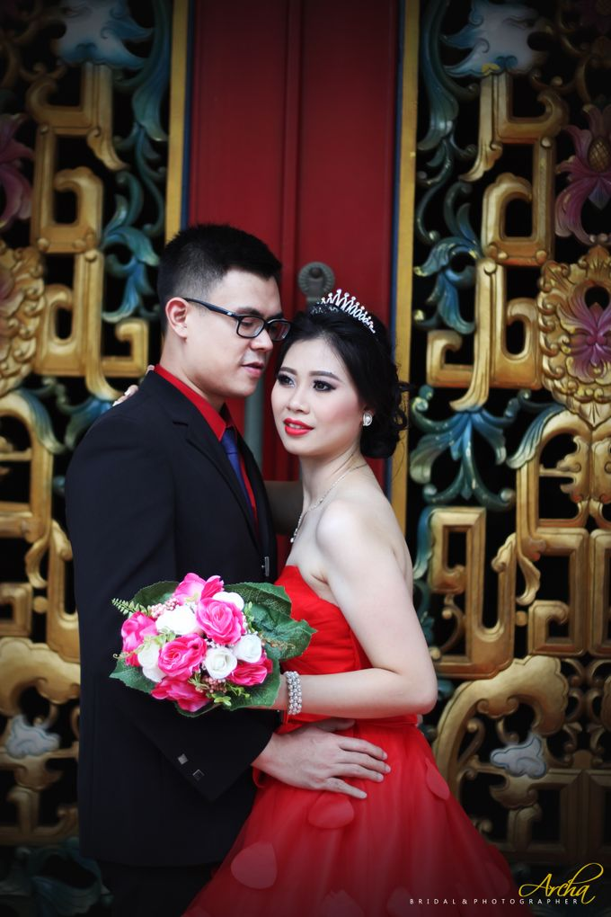Prewedding outdoor by Archa makeup artist - 009