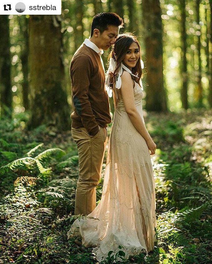 Prewedding Make Up by Julinar Tan Make Up Artist - 045