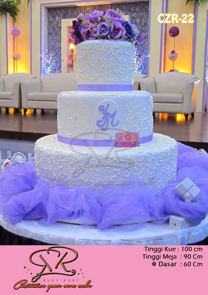 wedding cake by RR CAKES - 001