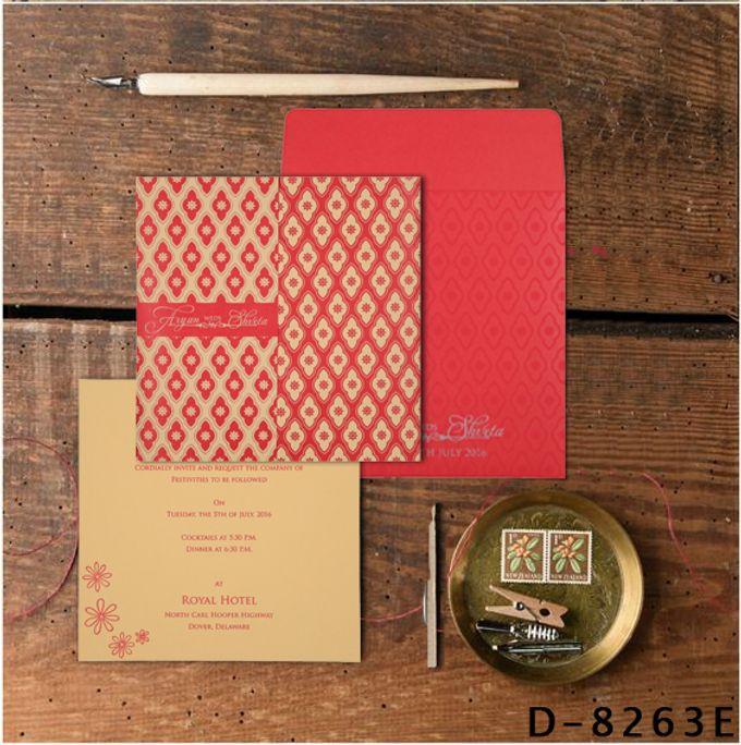 Wedding invitation design for Aryan & Shewta wedding by 123WeddingCards - 002