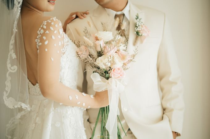 The Wedding Of Christian and Claudia by Kate Bridal and Couture - 005