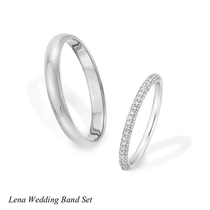DIAMOND WEDDING BAND SET by Mirage Jeweler - 012