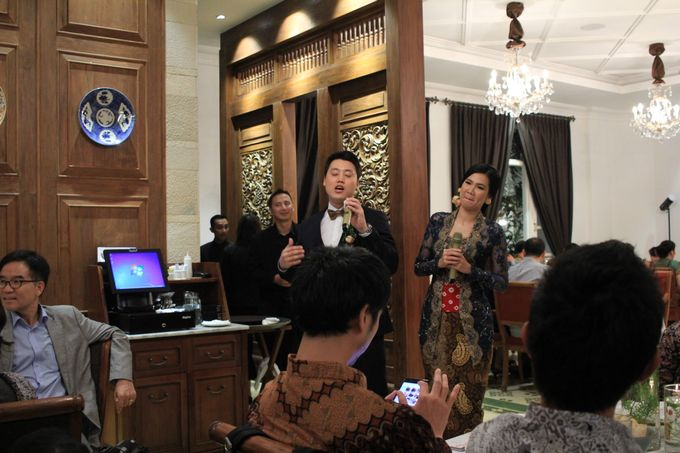 MC Wedding Intimate Plataran Menteng Jakarta - Anthony Stevven by THE PALACE Jeweler - 010