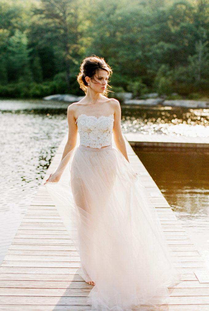 Cedar Lake Wedding by Through The Veil - 009