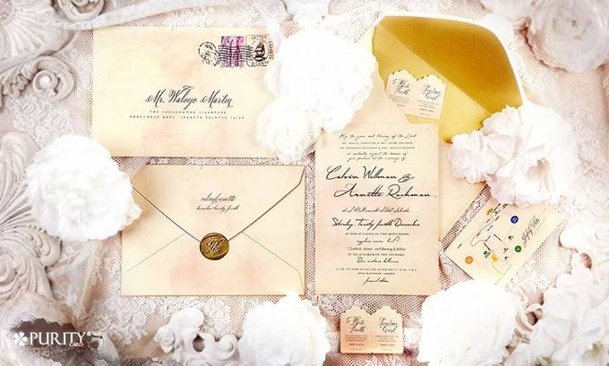 'Love Letter' Invitation by PurityCard - 001