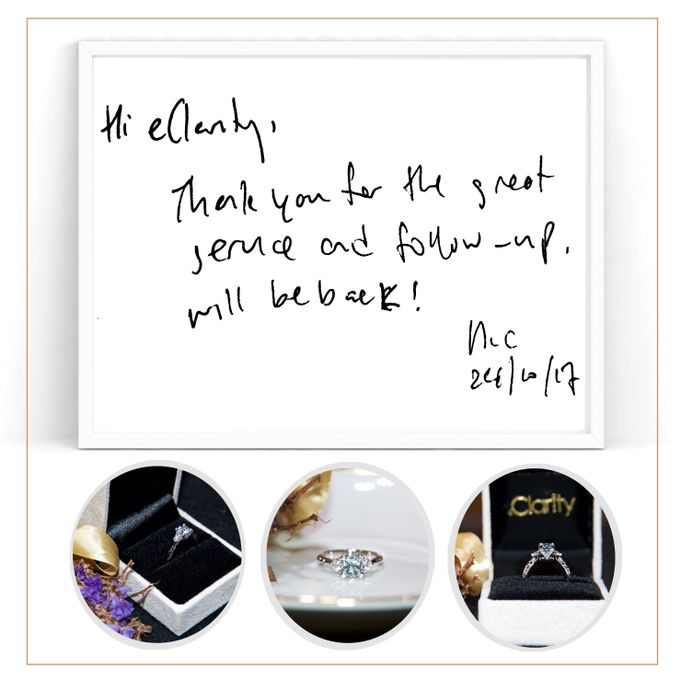 Guest Notes of eClarity couples by eClarity Diamonds - 010