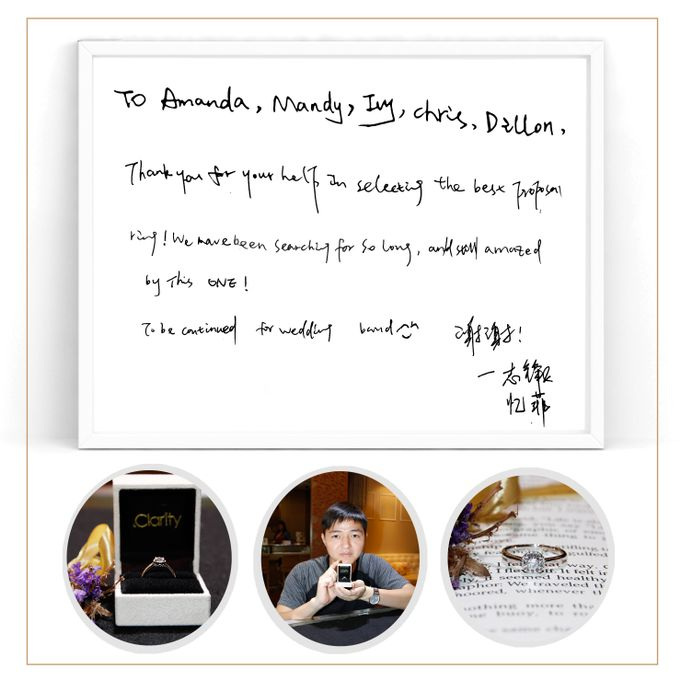 Guest Notes of eClarity couples by eClarity Diamonds - 005