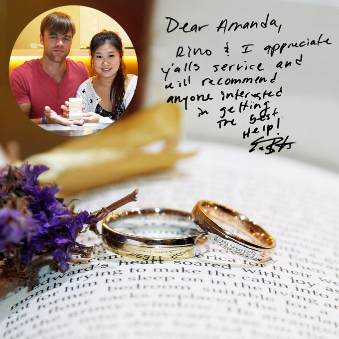 Guest Notes of eClarity couples by eClarity Diamonds - 025