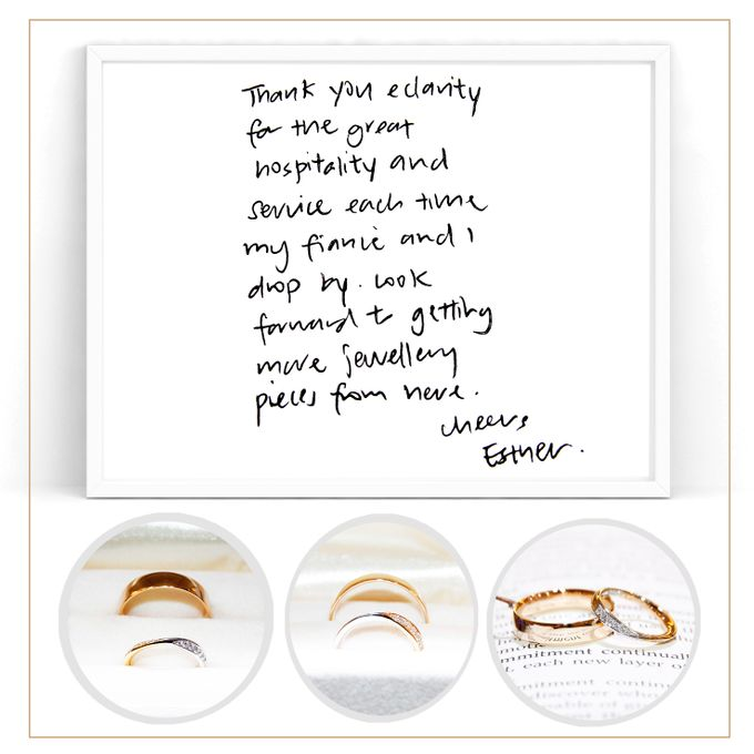 Guest Notes of eClarity couples by eClarity Diamonds - 038