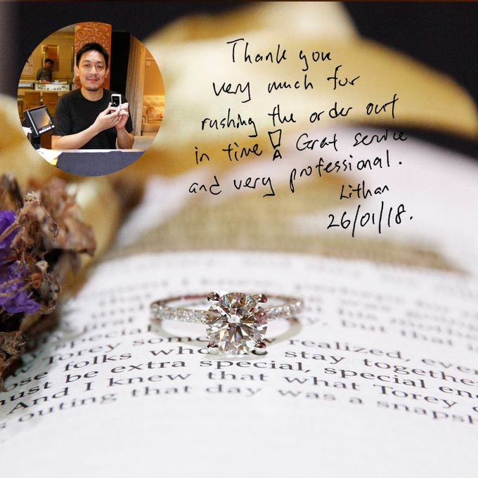 Guest Notes of eClarity couples by eClarity Diamonds - 030