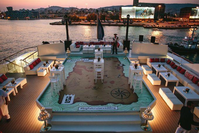 The Medditeranean Cruise Wedding by Stella & Moscha Weddings - 005