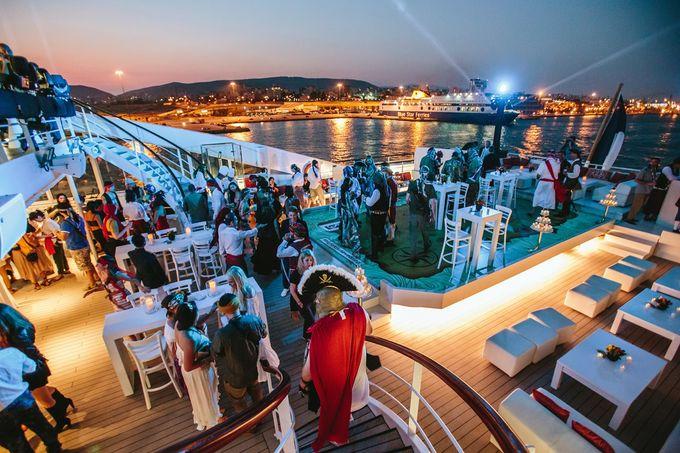 The Medditeranean Cruise Wedding by Stella & Moscha Weddings - 007