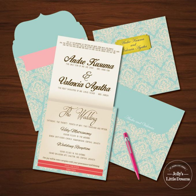 WEDDING INVITATION by Jolly's Little Dreams - 006