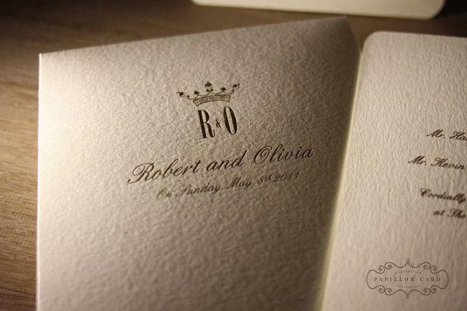 Robert & Olivia by Papillon Card - 002