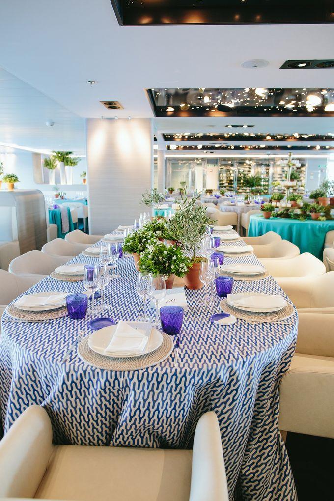 The Medditeranean Cruise Wedding by Stella & Moscha Weddings - 016