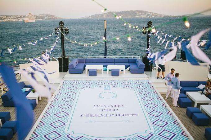 The Medditeranean Cruise Wedding by Stella & Moscha Weddings - 014