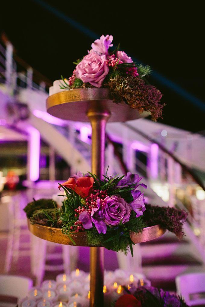 The Medditeranean Cruise Wedding by Stella & Moscha Weddings - 038