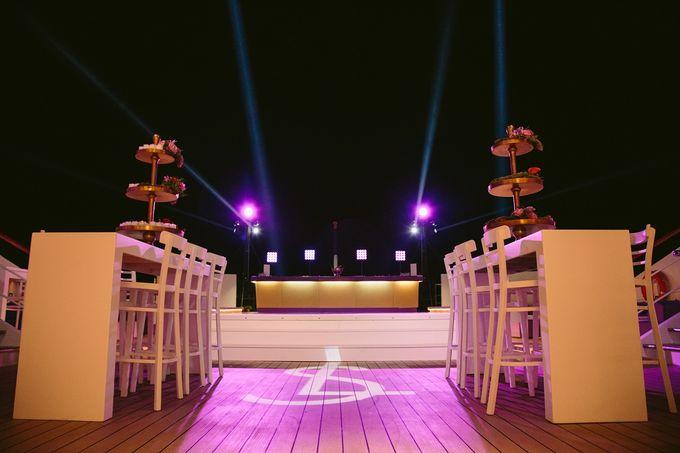 The Medditeranean Cruise Wedding by Stella & Moscha Weddings - 044