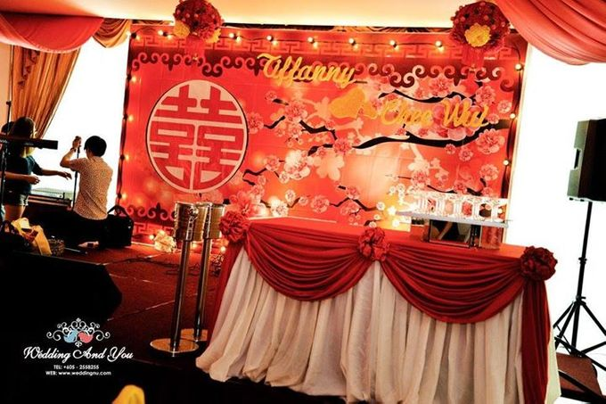 Oriental Wedding Decoration Theme by Wedding And You - 036
