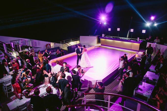 The Medditeranean Cruise Wedding by Stella & Moscha Weddings - 045