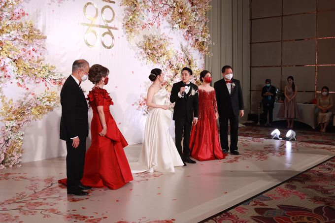 MC Teapai and New Normal Intimate Wedding Fairmont Hotel Jakarta - Anthony Stevven by Anthony Stevven - 009