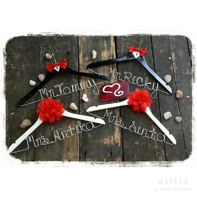Wedding Hanger Name by Sweetlovecollection - 036