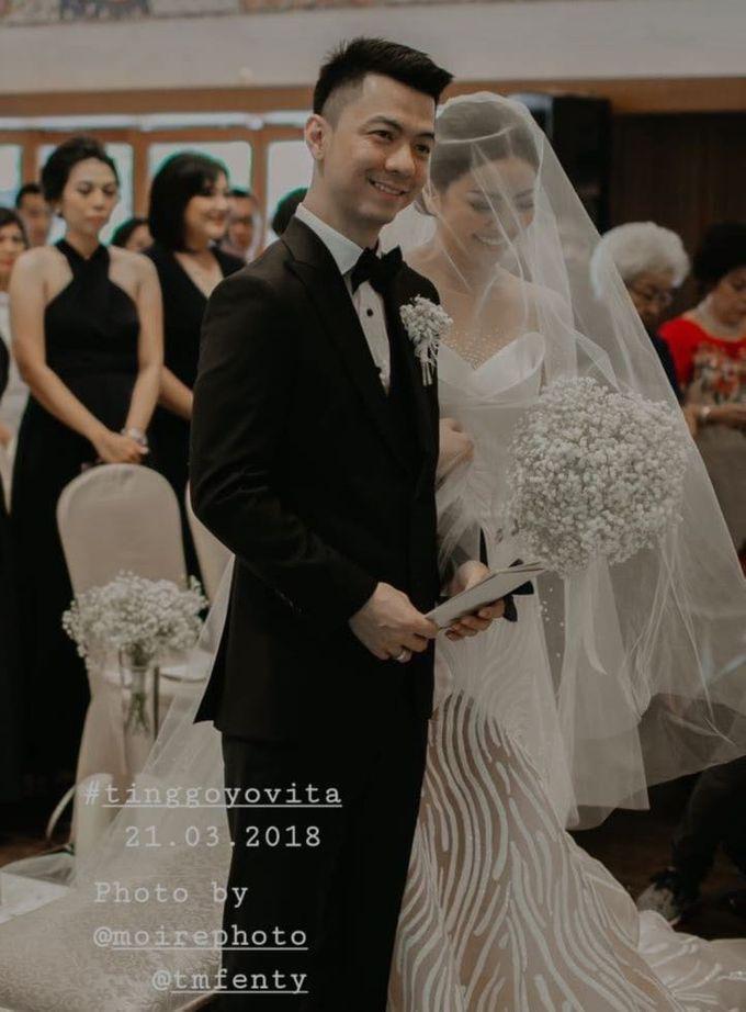 TINGGO YOVITA WEDDING by bridestore indonesia - 009