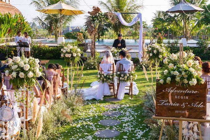 THE WEDDING OF TANIA & ADE by ODDY PRANATHA - 017