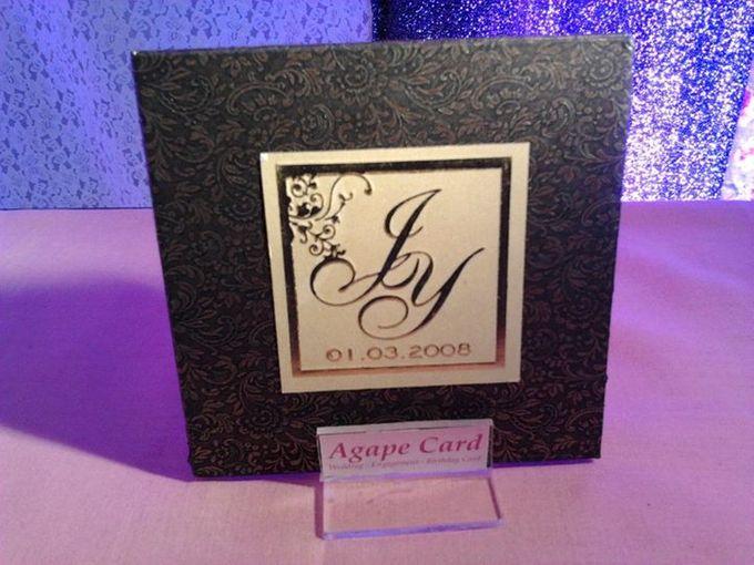 Wedding Card by Agape Card - 002