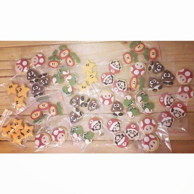 Cookies Art by Rolling Pin Sugar Art - 002