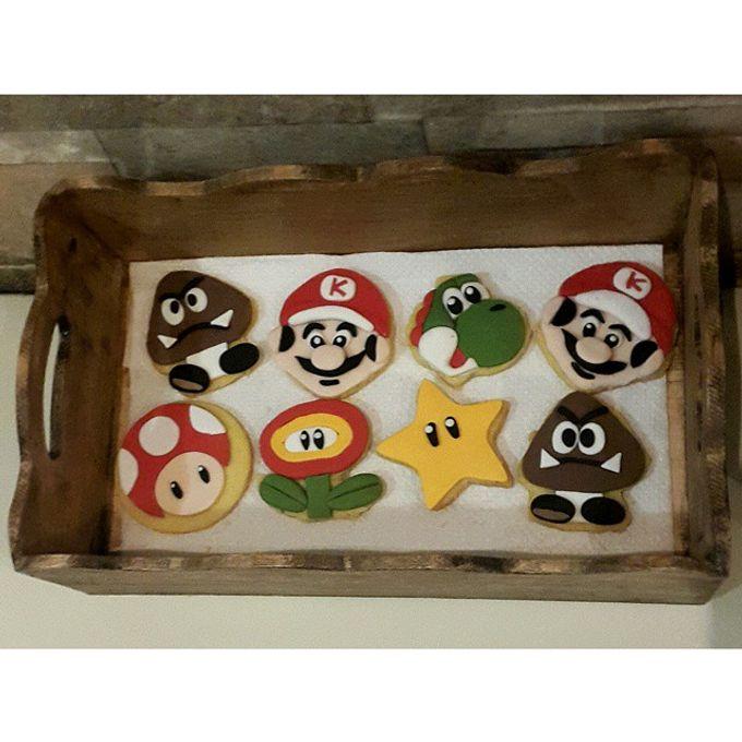 Cookies Art by Rolling Pin Sugar Art - 003