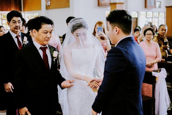 THE WEDDING OF REZHA & CILLA by Alluvio - 027