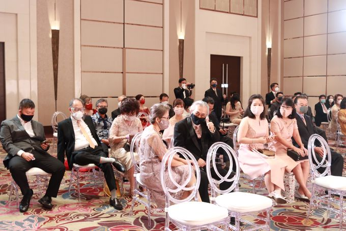 MC Teapai and New Normal Intimate Wedding Fairmont Hotel Jakarta - Anthony Stevven by Anthony Stevven - 004
