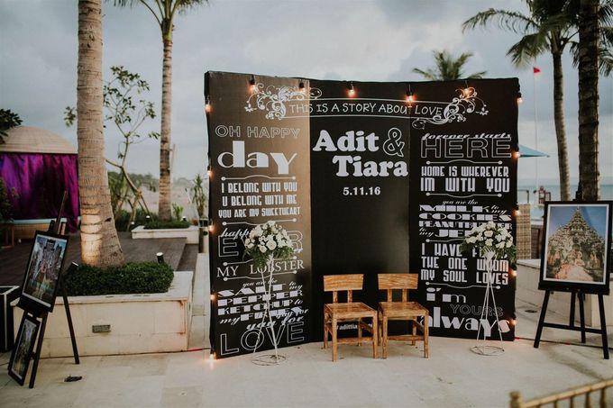 Nagisa Bali Wedding for Tiara & Adit by Nagisa Bali - 001