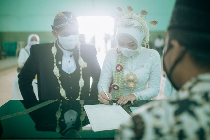 Micro Wedding Okta & Kresna by Kisah Kita Wedding Planner & Organizer - 016