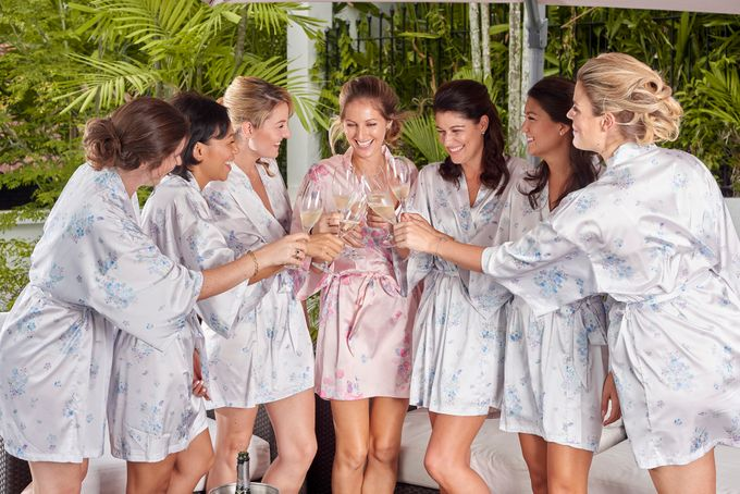 Robes for Bridemaids by The Mariposa Collection - 006