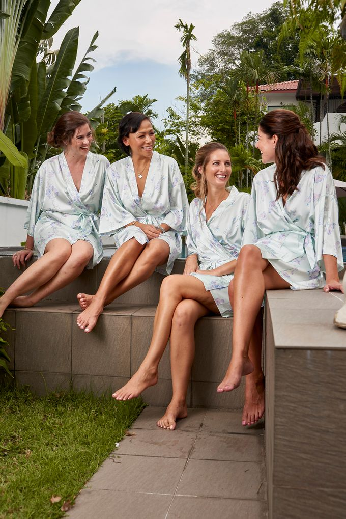 Robes for Bridemaids by The Mariposa Collection - 011